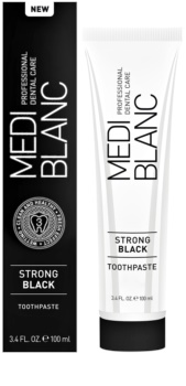 MEDIBLANC Strong Black pasta pre kompletnú ochranu zubov s bieliacim účinkom