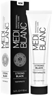 MEDIBLANC Strong Black pasta do kompletnej ochrony zębów o działaniu wybielającym