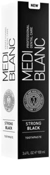 MEDIBLANC Strong Black pasta de dientes protección total con efecto blanqueador