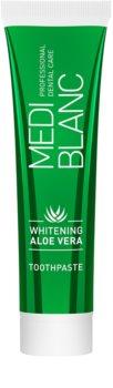 MEDIBLANC Whitening Aloe Vera Regenererande tandkräm med blekande effekt