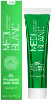 MEDIBLANC Whitening Aloe Vera regeneracijska zobna pasta z belilnim učinkom