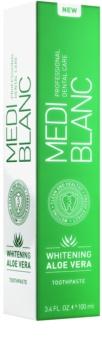MEDIBLANC Whitening Aloe Vera регенерираща паста с избелващ ефект