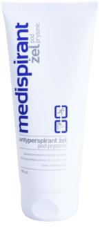 Medispirant Antiperspirant gel de banho contra a transpiração excessiva