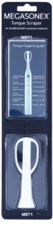 Megasonex M8T1 raspador de língua de reposição para escova de dentes ultra-sónica