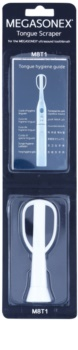 Megasonex M8T1 Wymienna szczoteczka ultradźwiękowa + skrobak do języka.