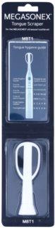 Megasonex M8T1 ανταλλακτική ξύστρα γλώσσας για ηχητική οδοντόβουρτσα