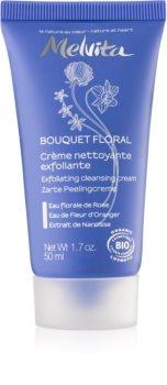 Melvita Bouquet Floral creme de limpeza com efeito peeling