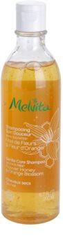Melvita Hair finom állagú sampon száraz hajra
