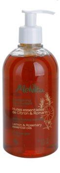 Melvita Hair finom állagú tisztító sampon zsíros hajra