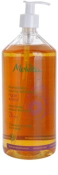 Melvita Hair extra enyhe tusoló sampon hajra és a testre