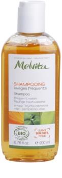 Melvita Hair champô para lavagem frequente de cabelo