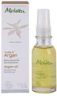 Melvita Huiles de Beauté Argan поживна відновлююча олійка для обличчя та тіла