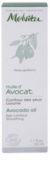 Melvita Huiles de Beauté Avocat vyhladzujúci olej na očné okolie a pleť
