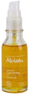 Melvita Huiles de Beauté Carotte пом'якшуюча олійка для природної засмаги для обличчя та тіла