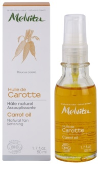 Melvita Huiles de Beauté Carotte Softening Oil for Natural Tan For Face And Body