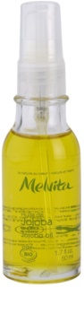 Melvita Huiles de Beauté Jojoba óleo reparador hidratante  para rosto e corpo