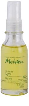 Melvita Huiles de Beauté Lys rozjasňujúci ochranný olej na tvár a ruky