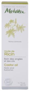 Melvita Huiles de Beauté Ricin posilňujúci olej na nechty a riasy