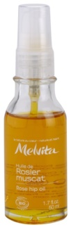 Melvita Huiles de Beauté Rosier Muscat Moisturizing Revitalizing Oil For Face And Body