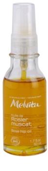 Melvita Huiles de Beauté Rosier Muscat óleo hidratante revitalizador para rosto e corpo