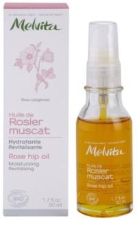 Melvita Huiles de Beauté Rosier Muscat aceite revitalizador hidratante  para rostro y cuerpo