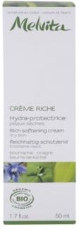 Melvita Les Essentiels crema hidratante alisadora  para pieles secas
