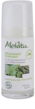 Melvita Les Essentiels golyós roll-on dezodor alumínium mentes 24h