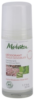 Melvita Les Essentiels Roll-On Deodorant Without Aluminum Content For Sensitive Skin