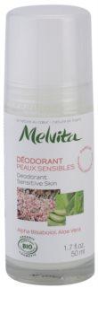 Melvita Les Essentiels дезодорант кульковий без вмісту алюмінія для чутливої шкіри