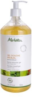 Melvita Les Essentiels extra jemný sprchový gel pro celou rodinu