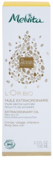 Melvita L'Or Bio Gentle Dry Oil for Face, Body and Hair