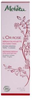 Melvita L'Or Rose schlankmachendes Serum für Hüften und Oberschenkel