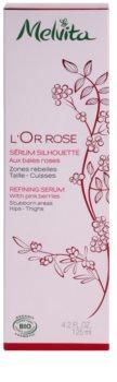 Melvita L'Or Rose zeštíhlující sérum na boky a stehna