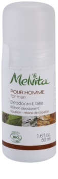 Melvita Pour Homme Roll-On Deodorant Without Aluminum Content