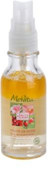 Melvita Pulpe de Rose serum dwuskładnikowe dla efektu rozjaśnienia i wygładzenia skóry