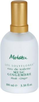 Melvita Solyflores Musk - Ginger Eau de Toilette for Women 100 ml