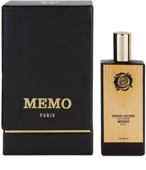 Memo French Leather eau de parfum unissexo 75 ml