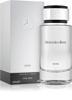 Mercedes-Benz For Men Silver eau de toilette pour homme 120 ml