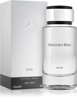 Mercedes-Benz For Men Silver toaletná voda pre mužov 120 ml