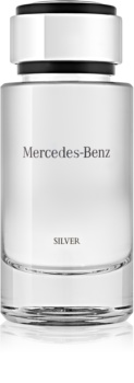 Mercedes-Benz For Men Silver toaletní voda pro muže 120 ml