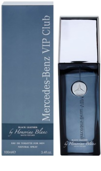 mercedes benz vip club black leather eau de toilette for. Black Bedroom Furniture Sets. Home Design Ideas