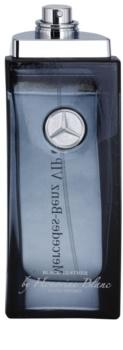 Mercedes-Benz VIP Club Black Leather toaletní voda tester pro muže 100 ml