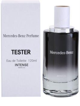 Mercedes-Benz For Men Intense toaletní voda tester pro muže 120 ml