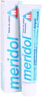 Meridol Dental Care fogkrém segíti az irritált fogíny regenerációját