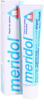 Meridol Dental Care zubná pasta podporujúci regeneráciu  podráždených ďasien