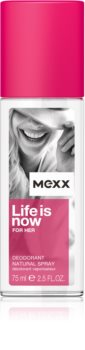 Mexx Life is Now  for Her perfume deodorant for Women