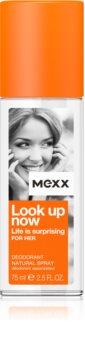 Mexx Look Up Now For Her deodorant s rozprašovačom pre ženy 75 ml