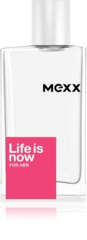 Mexx Life is Now  for Her toaletna voda za žene 50 ml