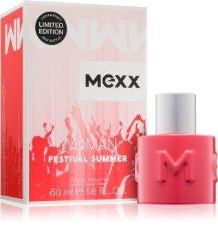 Mexx Festival Summer Woman toaletná voda pre ženy 50 ml