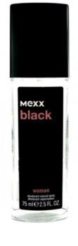 Mexx Black Woman déodorant avec vaporisateur pour femme 75 ml